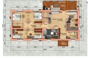 Создам планировку дома, квартиры с мебелью 128 - kwork.ru