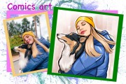 Нарисую портрет в стиле Pop Art,Comics Art, Stik Art 58 - kwork.ru