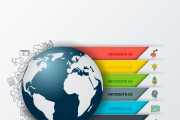 Набор инфографики. 13 тематик, 800 шаблонов, 2 пакета иконок 102 - kwork.ru