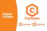 Разработка логотипа с нуля 8 - kwork.ru