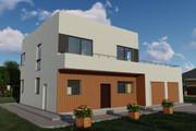 Фотореалистичная 3D визуализация экстерьера Вашего дома 350 - kwork.ru