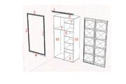 Изготовления проекта для мебели с технической документацией 58 - kwork.ru