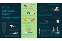 Красивая инфографика, которую поймёт ваша целевая аудитория 19 - kwork.ru