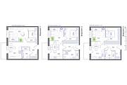 Планировка квартиры или жилого дома, перепланировка и визуализация 160 - kwork.ru
