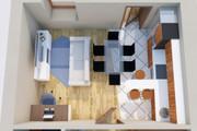 Создам планировку дома, квартиры с мебелью 104 - kwork.ru
