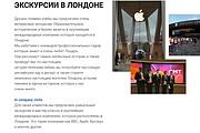 Создание сайта - Landing Page на Тильде 244 - kwork.ru