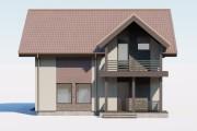 3д моделирование и визуализация экстерьеров домов 43 - kwork.ru