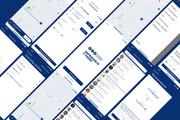 Дизайн одного экрана приложения Android или iOS 12 - kwork.ru