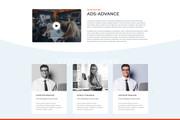 Дизайн одного блока Вашего сайта в PSD 141 - kwork.ru