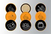 Обложки иконки для актуальных сторис Инстаграм 18 - kwork.ru