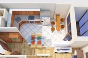Создам планировку дома, квартиры с мебелью 113 - kwork.ru