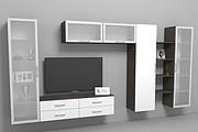 Визуализация мебели, предметная, в интерьере 93 - kwork.ru