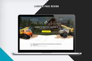 Первый экран Landing Page 39 - kwork.ru