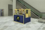 3D моделинг и визуализация торгового острова 13 - kwork.ru