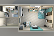3d визуализация квартир и домов 274 - kwork.ru
