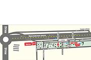 Карты и схемы проезда 36 - kwork.ru
