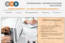 Создание сайтов на конструкторе сайтов WIX, nethouse 216 - kwork.ru