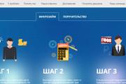 Качественная копия лендинга с установкой панели редактора 195 - kwork.ru