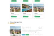 Дизайн одного блока Вашего сайта в PSD 154 - kwork.ru