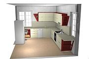 Создам 3D дизайн-проект кухни вашей мечты 36 - kwork.ru