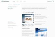 Дизайн страницы сайта для верстки в PSD, XD, Figma 107 - kwork.ru