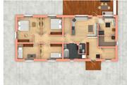 Создам планировку дома, квартиры с мебелью 127 - kwork.ru