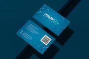 Дизайн визитки с исходниками 178 - kwork.ru