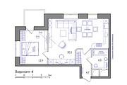 Планировка квартиры или жилого дома, перепланировка и визуализация 128 - kwork.ru