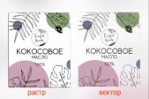 Отрисовка в векторе, формат Coreldraw, по рисунку, фото, сканированию 183 - kwork.ru