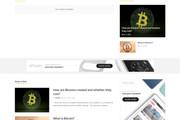 Создам красивый адаптивный блог, новостной сайт 61 - kwork.ru