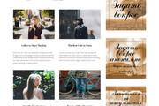Создам красивый адаптивный блог, новостной сайт 60 - kwork.ru