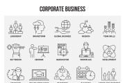 Набор инфографики. 13 тематик, 800 шаблонов, 2 пакета иконок 95 - kwork.ru