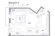Планировка квартиры или жилого дома, перепланировка и визуализация 134 - kwork.ru