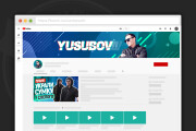 Сделаю оформление канала YouTube 152 - kwork.ru