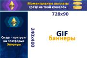 Сделаю 2 качественных gif баннера 114 - kwork.ru