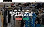 Создание одностраничника на Wordpress 210 - kwork.ru