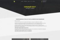 Дизайн блока Landing page 207 - kwork.ru