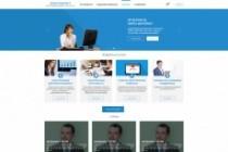 Дизайн блока Landing page 205 - kwork.ru