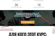 Лендинг для любых целей на Wordpress 128 - kwork.ru