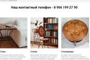 Создам лендинги, сайты, CMS 17 - kwork.ru