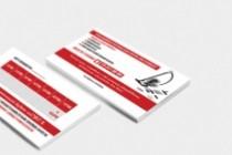 Сделаю дизайн визитки, визитных карточек 161 - kwork.ru