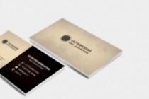 Сделаю дизайн визитки, визитных карточек 146 - kwork.ru