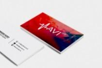 Сделаю дизайн визитки, визитных карточек 126 - kwork.ru