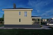 Фотореалистичная 3D визуализация экстерьера Вашего дома 273 - kwork.ru