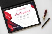 Дизайн визитки с исходниками 152 - kwork.ru