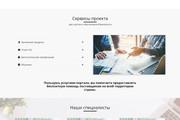 Создание красивого адаптивного лендинга на Вордпресс 133 - kwork.ru