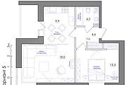 Планировка квартиры или жилого дома, перепланировка и визуализация 126 - kwork.ru
