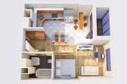 Создам планировку дома, квартиры с мебелью 111 - kwork.ru