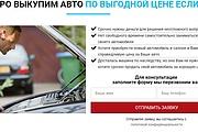 Создам лендинг на популярных платформах 78 - kwork.ru