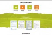 Дизайн одного блока Вашего сайта в PSD 202 - kwork.ru